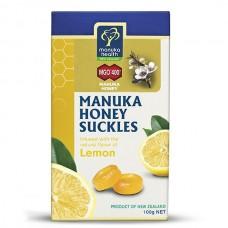 蜜纽康 麦卢卡蜂蜜 润喉糖 柠檬味 20粒装